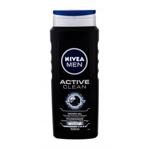 Nivea Men Active Clean ¿el pod prysznic 500 ml dla mê¿czyzn