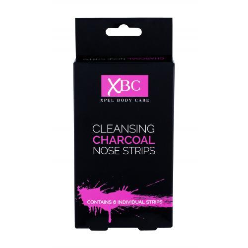 Xpel Body Care Cleansing Charcoal Nose Strips maseczka do twarzy 6 szt dla kobiet