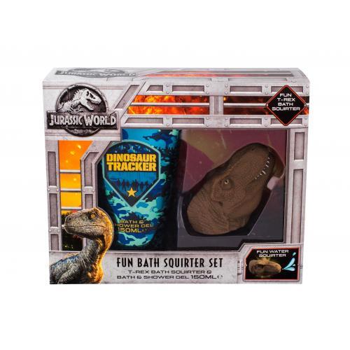 Universal Jurassic World zestaw ¯el pod prysznic 150 ml + Zabawka do k±pieli dla dzieci