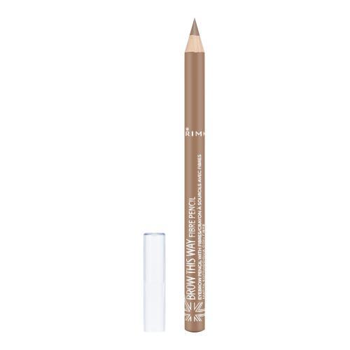 Rimmel London Brow This Way Fibre Pencil kredka do brwi 1,08 g dla kobiet 001 Light