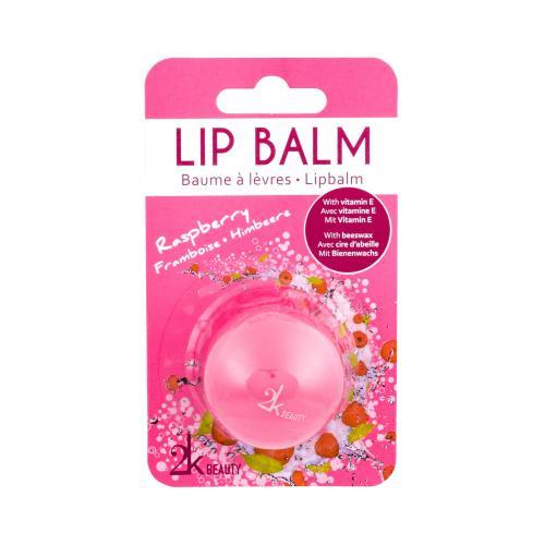 2K Beauty balsam do ust 5 g dla kobiet Raspberry