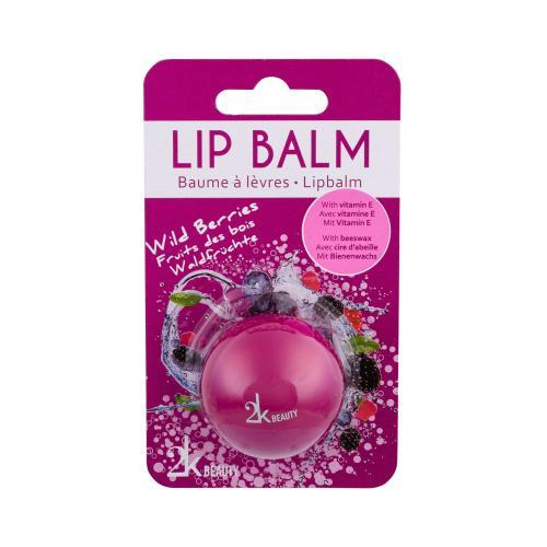 2K Beauty balsam do ust 5 g dla kobiet Wild Berries