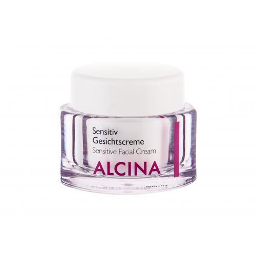 ALCINA Sensitive Facial Cream krem do twarzy na dzieñ 50 ml dla kobiet