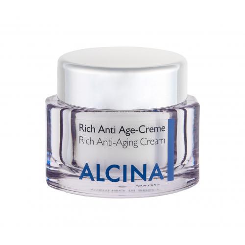 ALCINA Rich Anti-Aging Cream krem do twarzy na dzieñ 50 ml dla kobiet