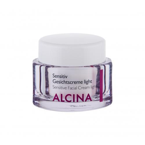 ALCINA Sensitive Facial Cream Light krem do twarzy na dzieñ 50 ml dla kobiet