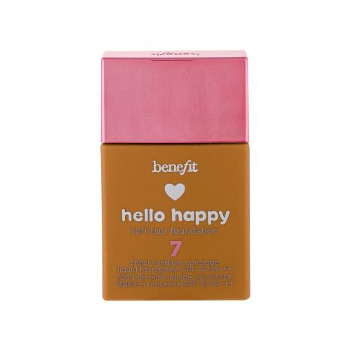 Benefit Hello Happy SPF15 podk³ad 30 ml dla kobiet 07 Medium-Tan Warm