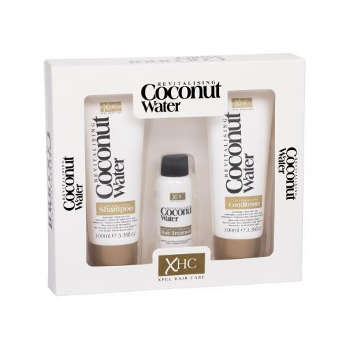 Xpel Coconut Water zestaw Szampon 100 ml + Od¿ywka 100 ml + Serum do w³osów 30 ml dla kobiet