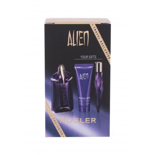Thierry Mugler Alien zestaw Edp 60 ml + Edp 10 ml + Mleczko do cia³a 50 ml dla kobiet