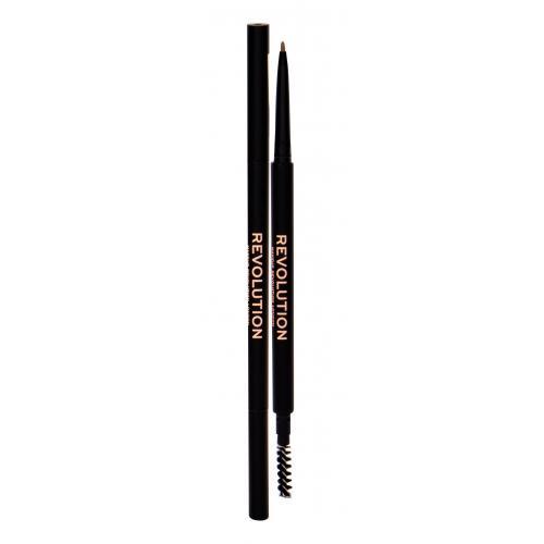 Makeup Revolution London Precise Brow Pencil kredka do brwi 0,05 g dla kobiet Light Brown