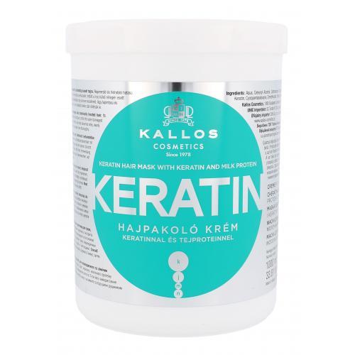 Kallos Cosmetics Keratin maska do w³osów 1000 ml dla kobiet