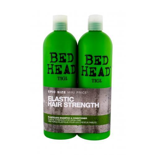 Tigi Bed Head Elasticate zestaw 750m Bed Head Elasticate Strengthening Shampoo + 750ml Bed Head Elasticate Strengthening Conditioner dla kobiet