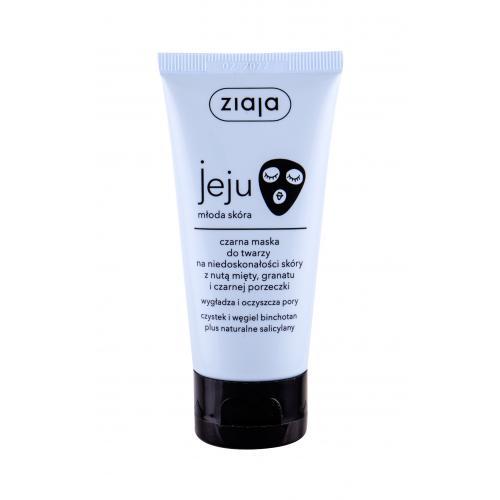 Ziaja Jeju Black Face Mask maseczka do twarzy 50 ml dla kobiet