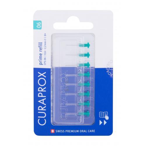 Curaprox Prime Refill CPS 0,6 - 2,2 mm szczoteczka do przestrzeni miêdzyzêbowych 8 szt unisex