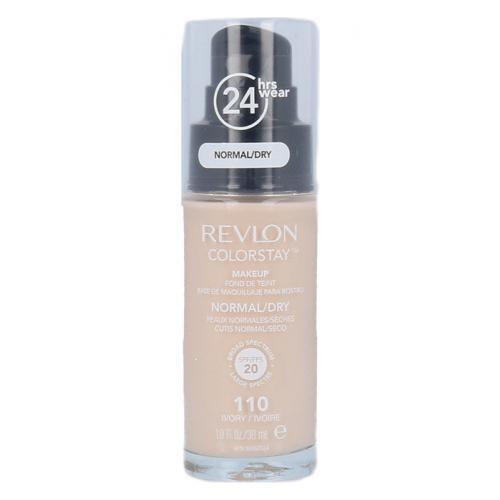 Revlon Colorstay Normal Dry Skin SPF20 podk³ad 30 ml dla kobiet 110 Ivory