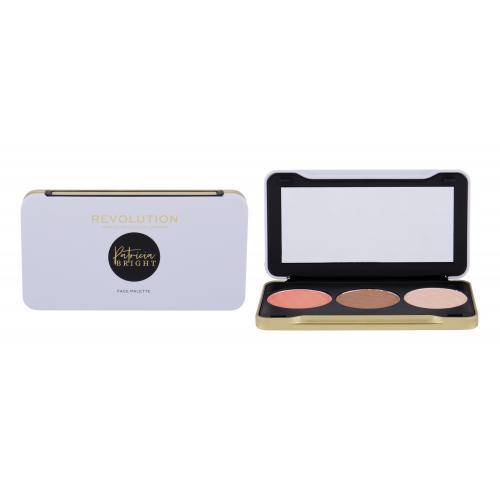 Makeup Revolution London X Patricia Bright Face Palette zestaw kosmetyków 6,6 g dla kobiet Moonlight Glow