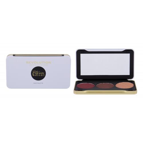 Makeup Revolution London X Patricia Bright Face Palette zestaw kosmetyków 6,6 g dla kobiet Dusk Til Dawn