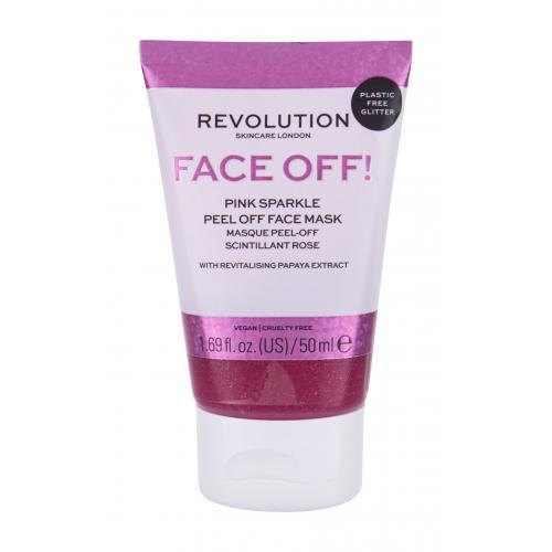 Revolution Skincare Face Off! Pink Sparkle maseczka do twarzy 50 ml dla kobiet