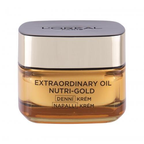 L´Oréal Paris Nutri Gold Extraordinary krem do twarzy na dzieñ 50 ml dla kobiet