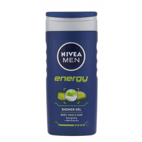 Nivea Men Energy ¿el pod prysznic 250 ml dla mê¿czyzn