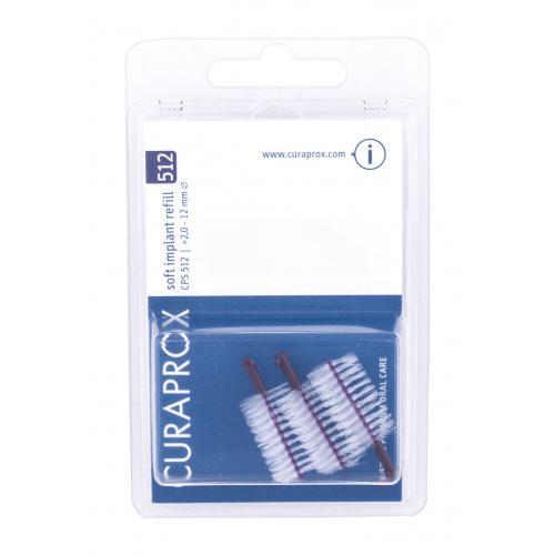 Curaprox Soft Implant Refill 2,0 - 12 mm szczoteczka do przestrzeni miêdzyzêbowych 3 szt unisex