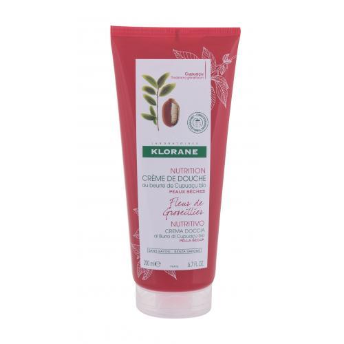 Klorane Cupuaçu Gooseberry Flower krem pod prysznic 200 ml dla kobiet Naturalny