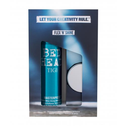 Tigi Bed Head Flex ´N´ Shine zestaw Lakier do w³osów Bed Head Masterpiece 340 ml + Pasta do stylizacji w³osów Bed Head Manipulator 57 g dla kobiet