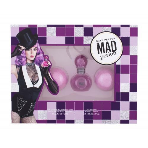 Katy Perry Katy Perry´s Mad Potion zestaw Edp 30 ml + Musuj±ca kula do k±pieli 2 x 100 g dla kobiet