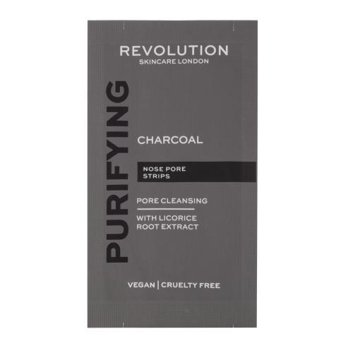 Revolution Skincare Purifying Charcoal Nose Pore Strips chusteczki oczyszczaj±ce 6 szt dla kobiet