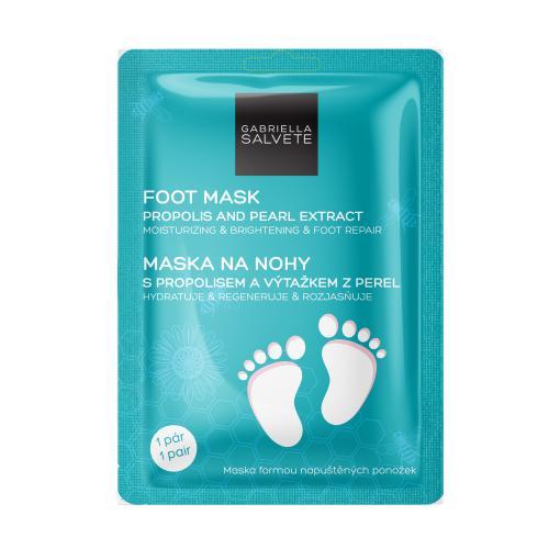 Gabriella Salvete Foot Mask Propolis And Pearl Extract maseczka do nóg 1 szt dla kobiet