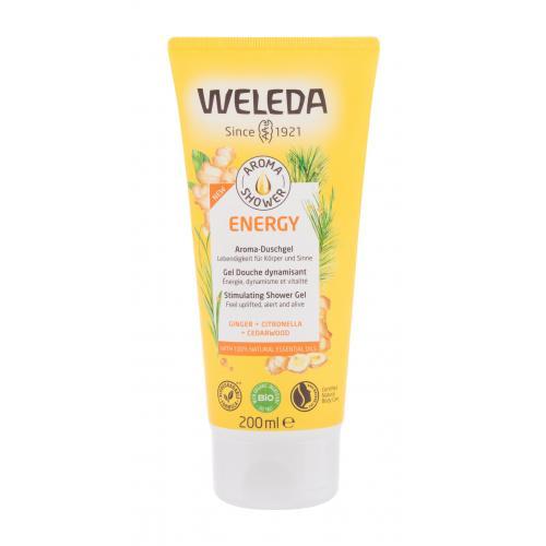 Weleda Aroma Shower Energy ¿el pod prysznic 200 ml dla kobiet BIO produkt; Naturalny