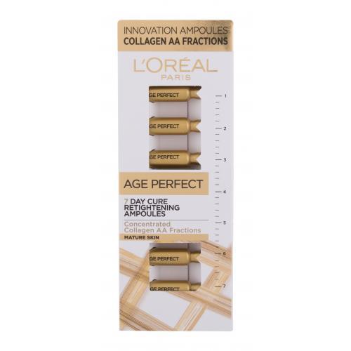 L´Oréal Paris Age Perfect 7 Day Cure Retightening Ampoules serum do twarzy 7 ml dla kobiet