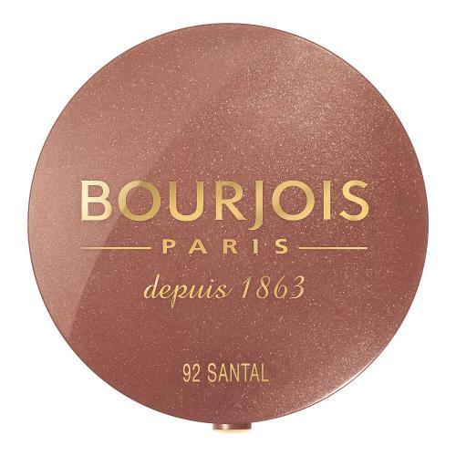 BOURJOIS Paris Little Round Pot róż 2,5 g dla kobiet 92 Santal