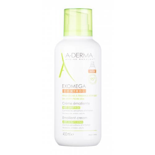 A-Derma Exomega Control Emollient Cream krem do cia³a 400 ml unisex
