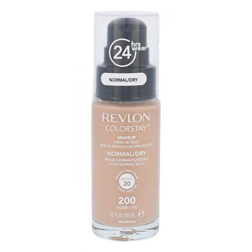 Revlon Colorstay Normal Dry Skin SPF20 podk³ad 30 ml dla kobiet 200 Nude