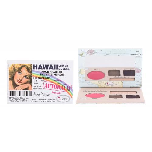 TheBalm Autobalm Hawaii zestaw kosmetyków Face Palette dla kobiet