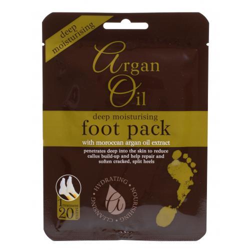 Xpel Argan Oil Deep Moisturising Foot Pack krem do stóp 1 szt dla kobiet