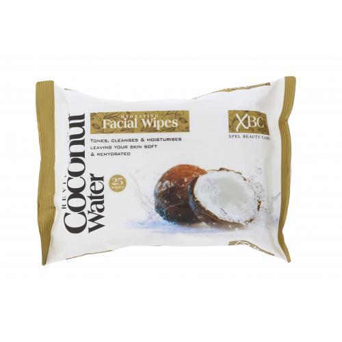 Xpel Coconut Water Hydrating Facial Wipes chusteczki oczyszczaj±ce 25 szt dla kobiet