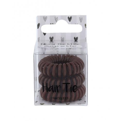 2K Hair Tie gumka do w³osów 3 szt dla kobiet Brown