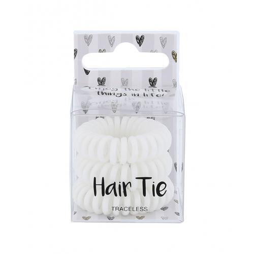 2K Hair Tie gumka do w³osów 3 szt dla kobiet White