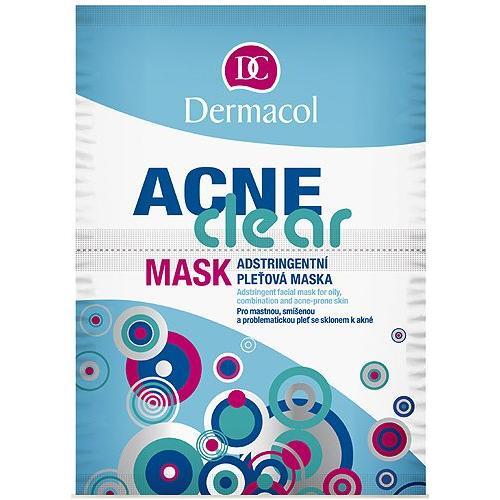 Dermacol AcneClear maseczka do twarzy 16 g dla kobiet