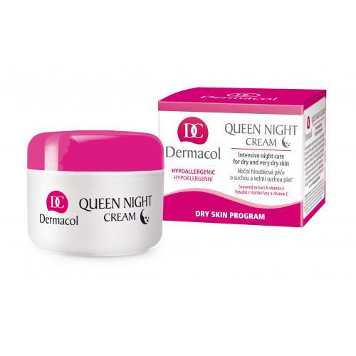 Dermacol Queen krem na noc 50 ml dla kobiet