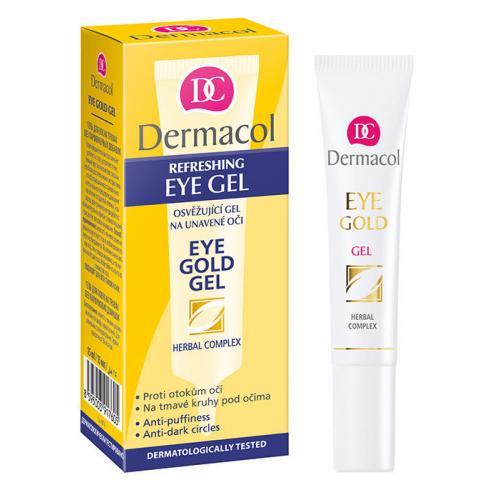 Dermacol Eye Gold żel pod oczy 15 ml dla kobiet
