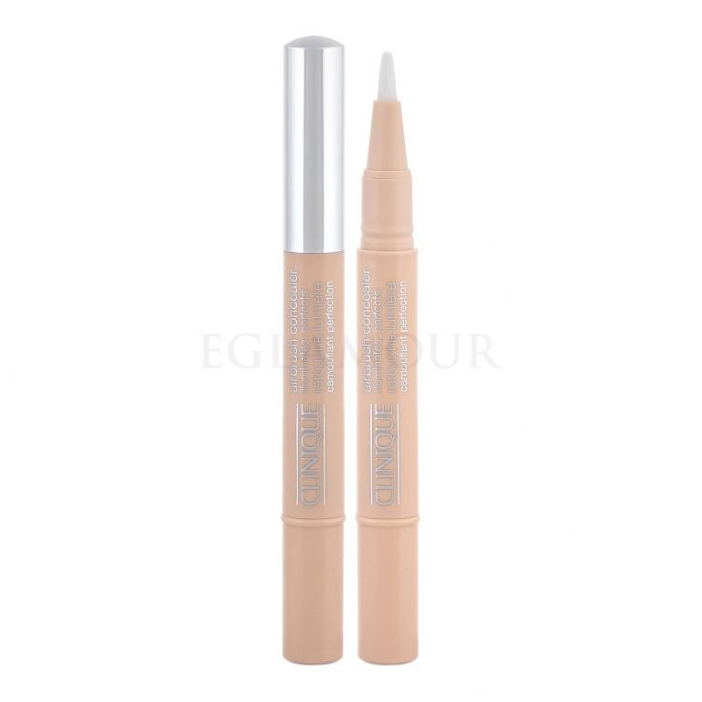 Clinique Airbrush Illuminates Korektor dla kobiet 1,5 ml Odcień 04 Neutral Fair