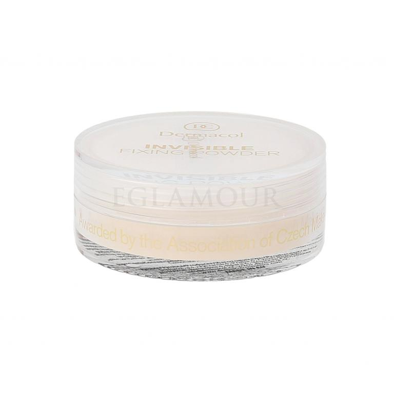 Dermacol Invisible Fixing Powder Puder dla kobiet 13 g Odcień Light