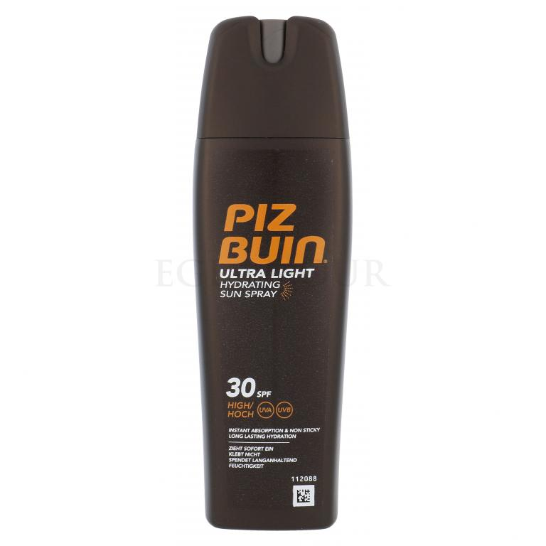 PIZ BUIN Ultra Light Hydrating Sun Spray SPF30 Preparat do opalania ciała 200 ml