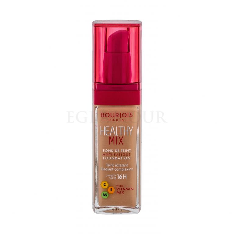 BOURJOIS Paris Healthy Mix Anti-Fatigue Foundation Podkład dla kobiet 30 ml Odcień 57 Bronze