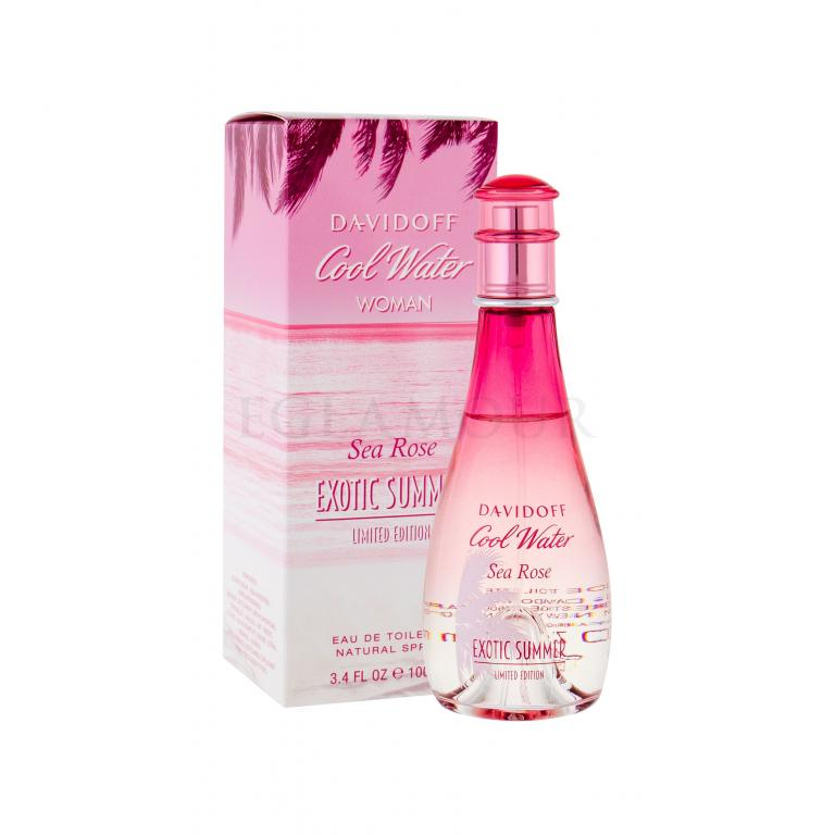 Davidoff Cool Water Sea Rose Exotic Summer Woda toaletowa dla kobiet 100 ml
