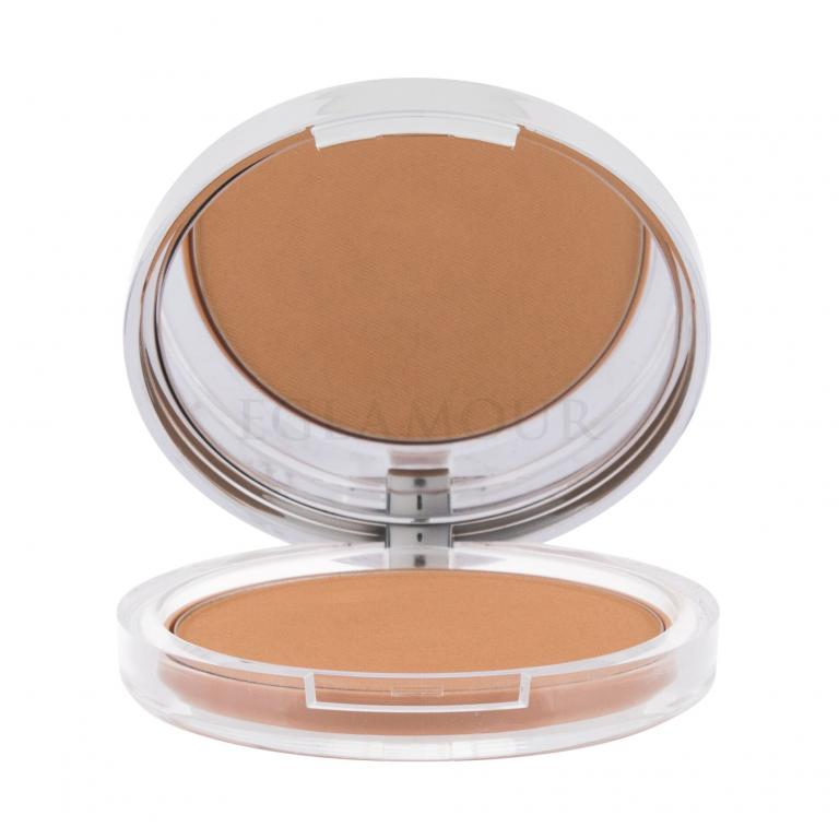 Clinique Stay-Matte Sheer Pressed Powder Puder dla kobiet 7,6 g Odcień 04 Stay Honey