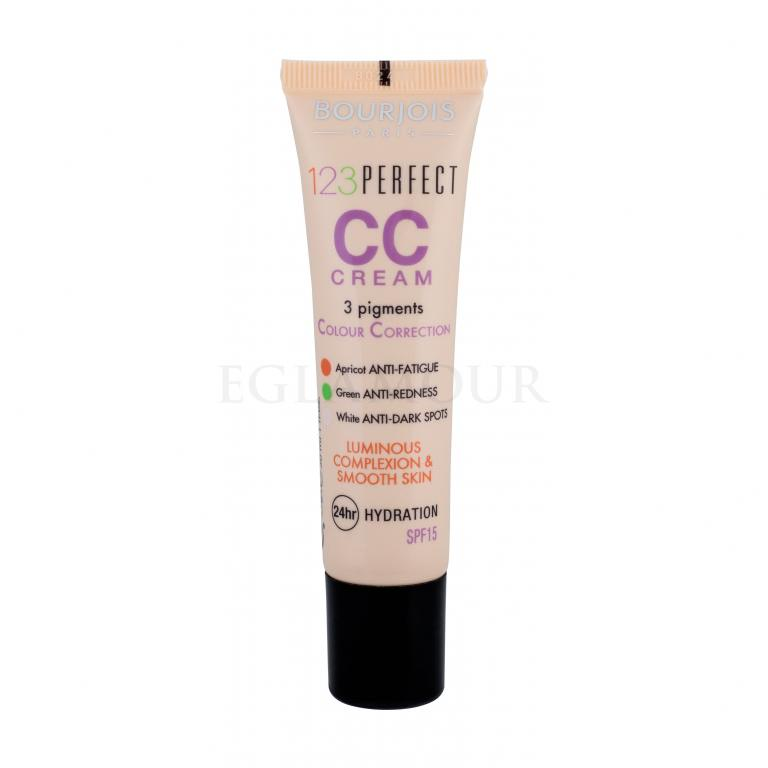 BOURJOIS Paris 123 Perfect Krem CC dla kobiet 30 ml Odcień 32 Light Beige