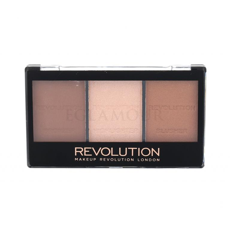 Makeup Revolution London Ultra Sculpt & Contour Kit Bronzery dla kobiet